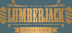 Lumberjack barbershop logo